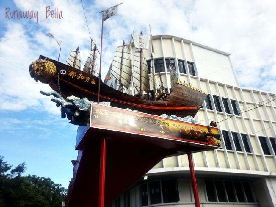 Cheng Ho ship.