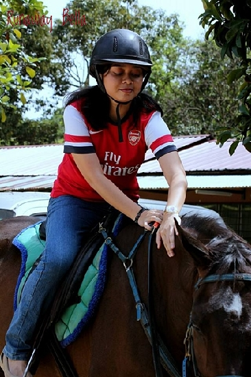 Horse Riding at Teratak Nalys