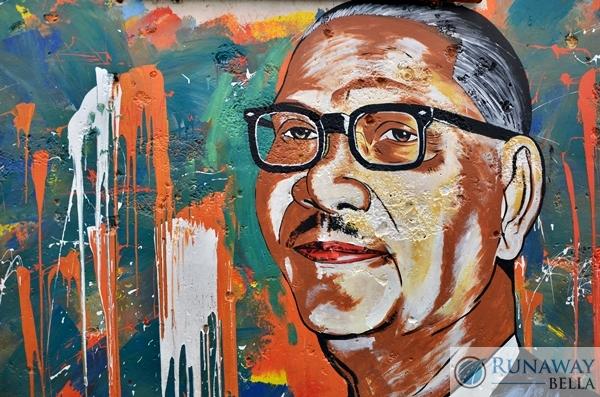 Mural at Lorong Kenangan Payang