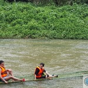Bamboo Rafting at Uluhati, Hulu Langat
