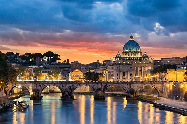St. Peter's Basilica and The Vatican