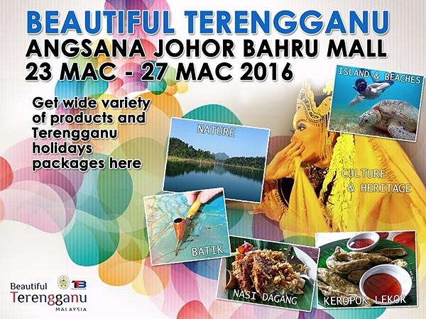 Beautiful Terengganu in Johor Bahru Brought 226,000 Visitors!