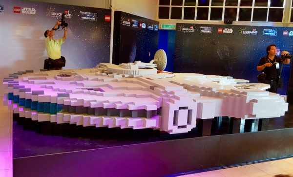 Star Wars Milennium Falcon Legoland Malaysia