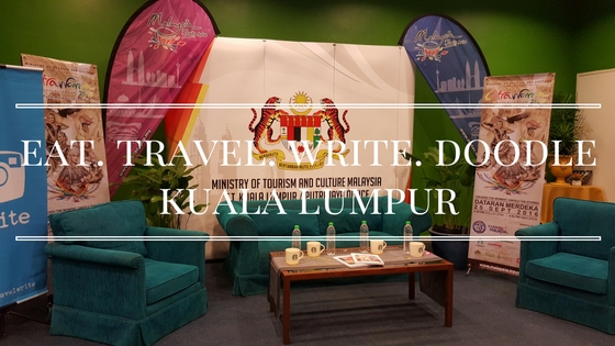 Launch of Eat.Travel.Write.Doodle In Conjunction With Citrawarna 2016