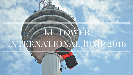 BASE Jump at KL Tower International Jump 2016