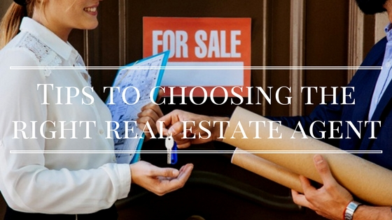 Tips to choosing the right real estate agent » Runaway Bella