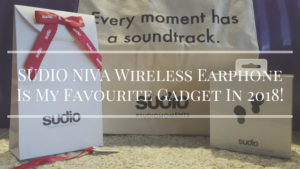 SUDIO NIVA Wireless Earphone