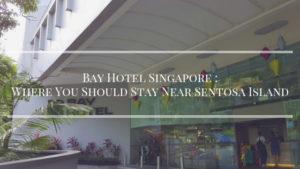 Hotel nearby Sentosa Island