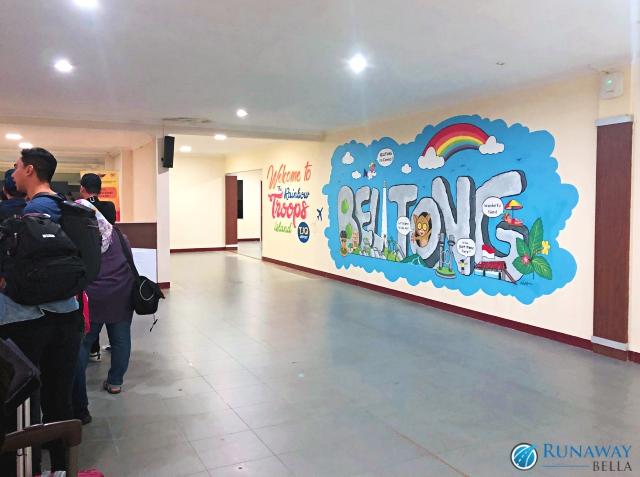 Belitung Island, Indonesia HAS Hanandjoeddin Airport, Tanjung Pandan
