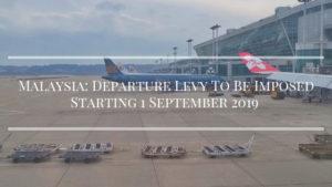 Malaysia Departure Tax