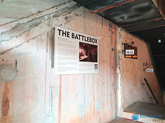 The Battlebox Fort Canning