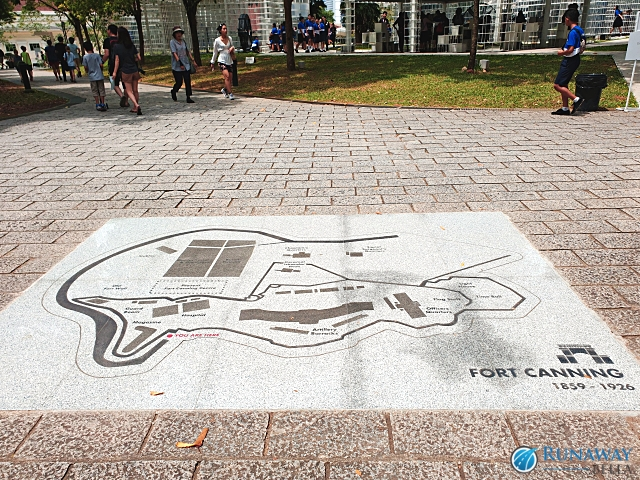 Fort Canning Map