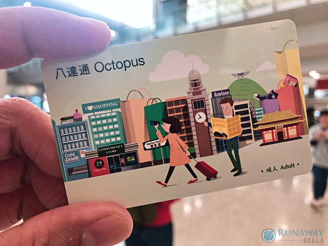 Hong Kong Octopus Card, can be used for virtually anything
