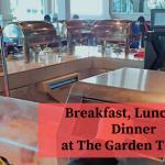 The Garden Terrace: Breakfast, Lunch and Dinner at Swiss-Garden Beach Resort Damai Laut